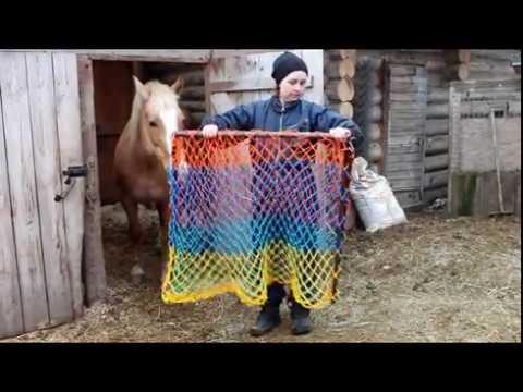 Медленная кормушка для лошадей