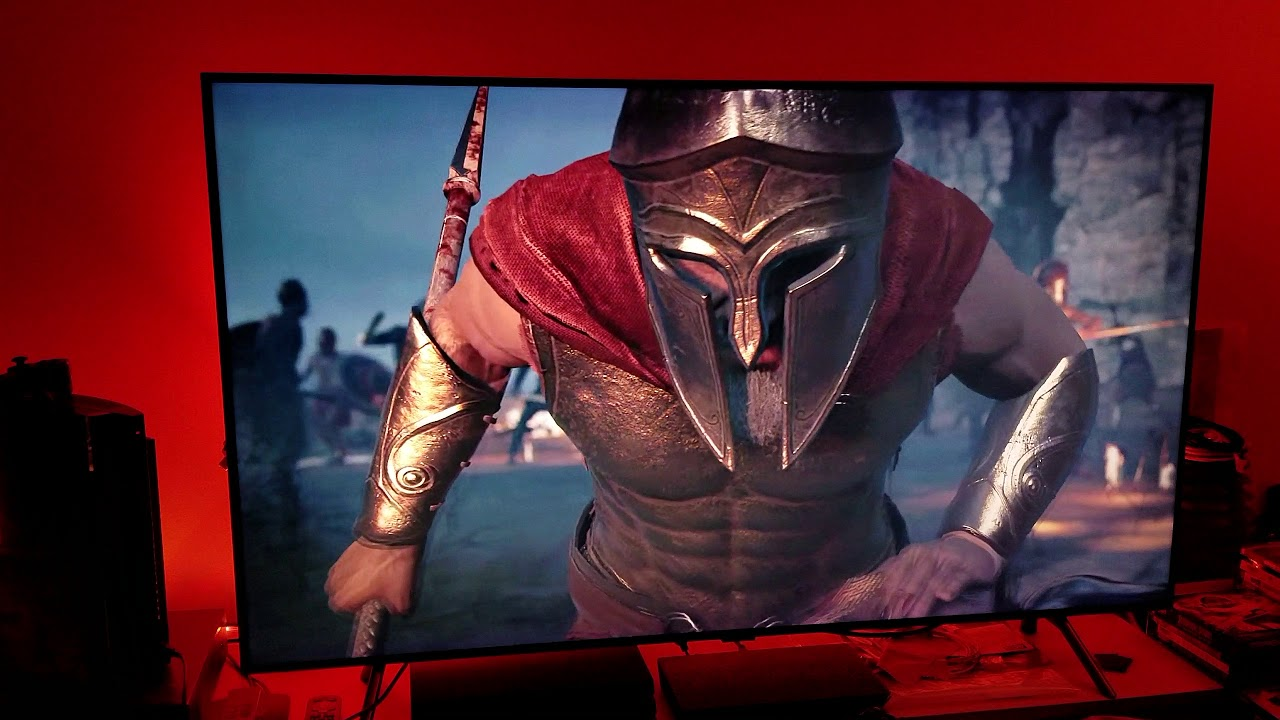 Assassin Creed : ODYSSEY HDR Settings with Game Mode on Samsung Q8fn