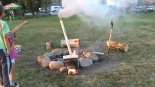 Wojtek i dymiący komin