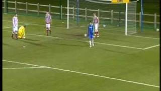 Chelsea FC Reserves v Blackburn Rovers Penalty Shootout 10/11 Highlights of Chelsea FC Reserves 3 - 1 win over Liverpool Reserves at Cobham with the
