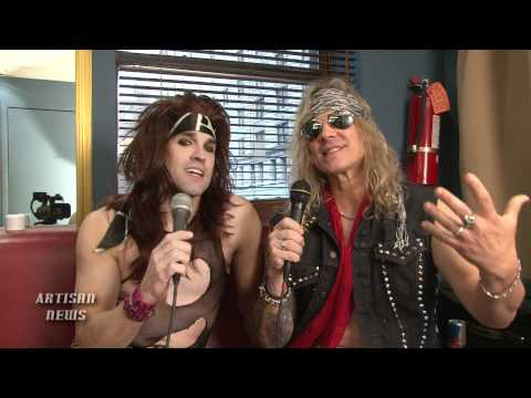STEEL PANTHER SHARES BIZARRE CHAD KROEGER RECORDING EXPERIENCE