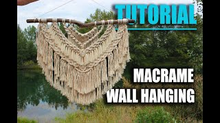 DIY Macrame Wall Hanging | exclusive tutorial by Macramessage |