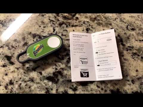 Amazon Dash Button For Bounty Paper Towels. See How The Dash Buttons Work. Real Home Demo. Time Line