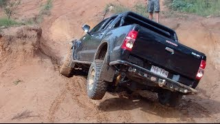 Darren Gaudry - 4x4ing Glasshouse Mountains After Some Rain...