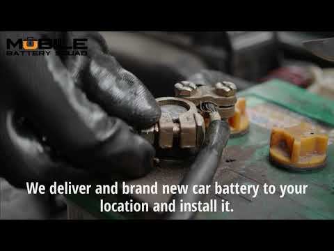 Car Battery Replacement Free Delivery Install Mobile Battery