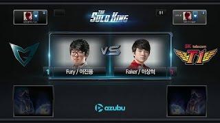 Giải Solo King Hàn Quốc   Faker (LeeSin) vs Fury (LeeSin)   Game 3