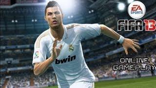 Fifa 13 Online Gameplay - Real Madrid vs Inter