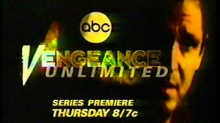 Vengeance Unlimited - ABC promos (1997)