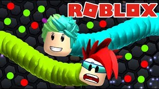 Slither.io in Roblox Worms of Colors in Roblox Roblox Karim Games Play