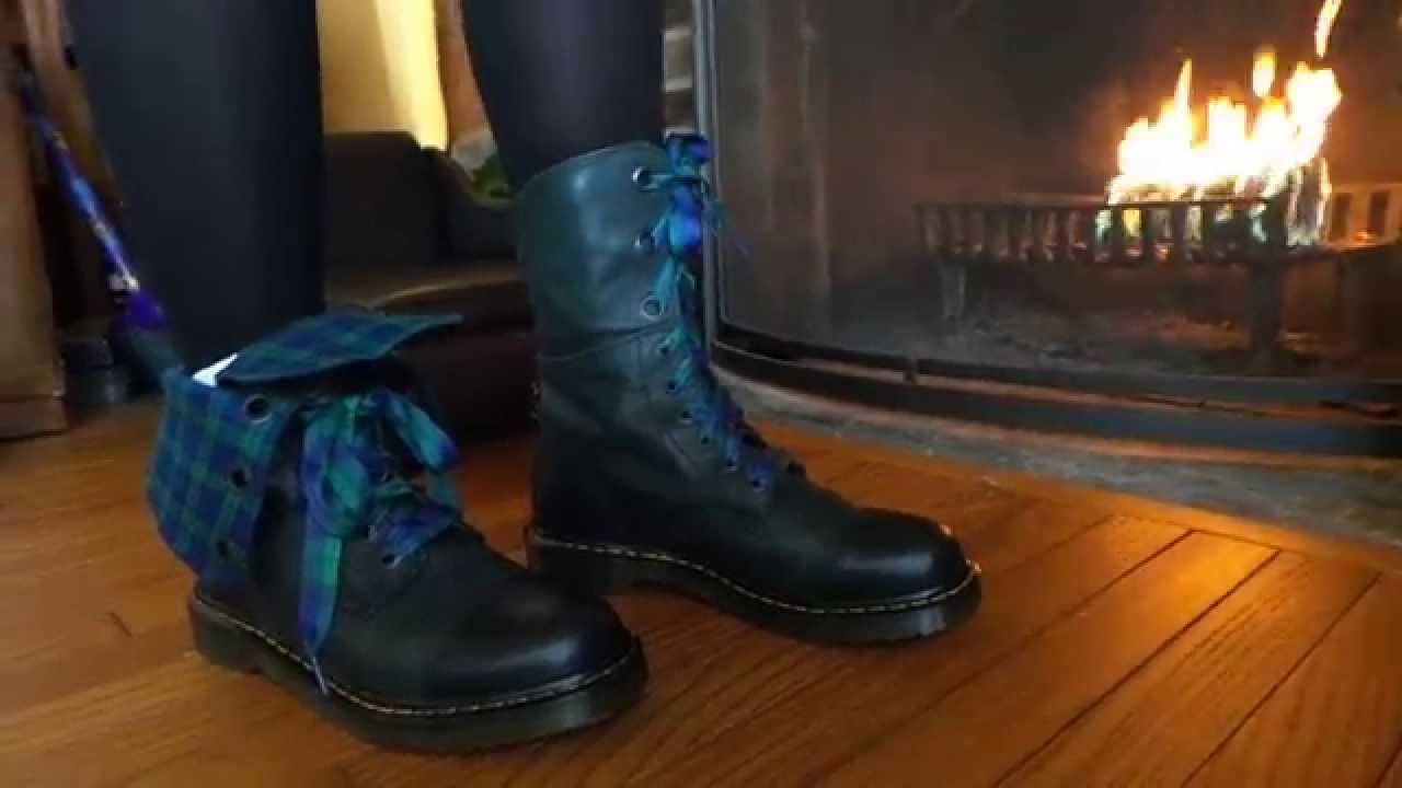 Dr. Martens Women s Aimilie Combat Boot Review - YouTube 2c65feef4