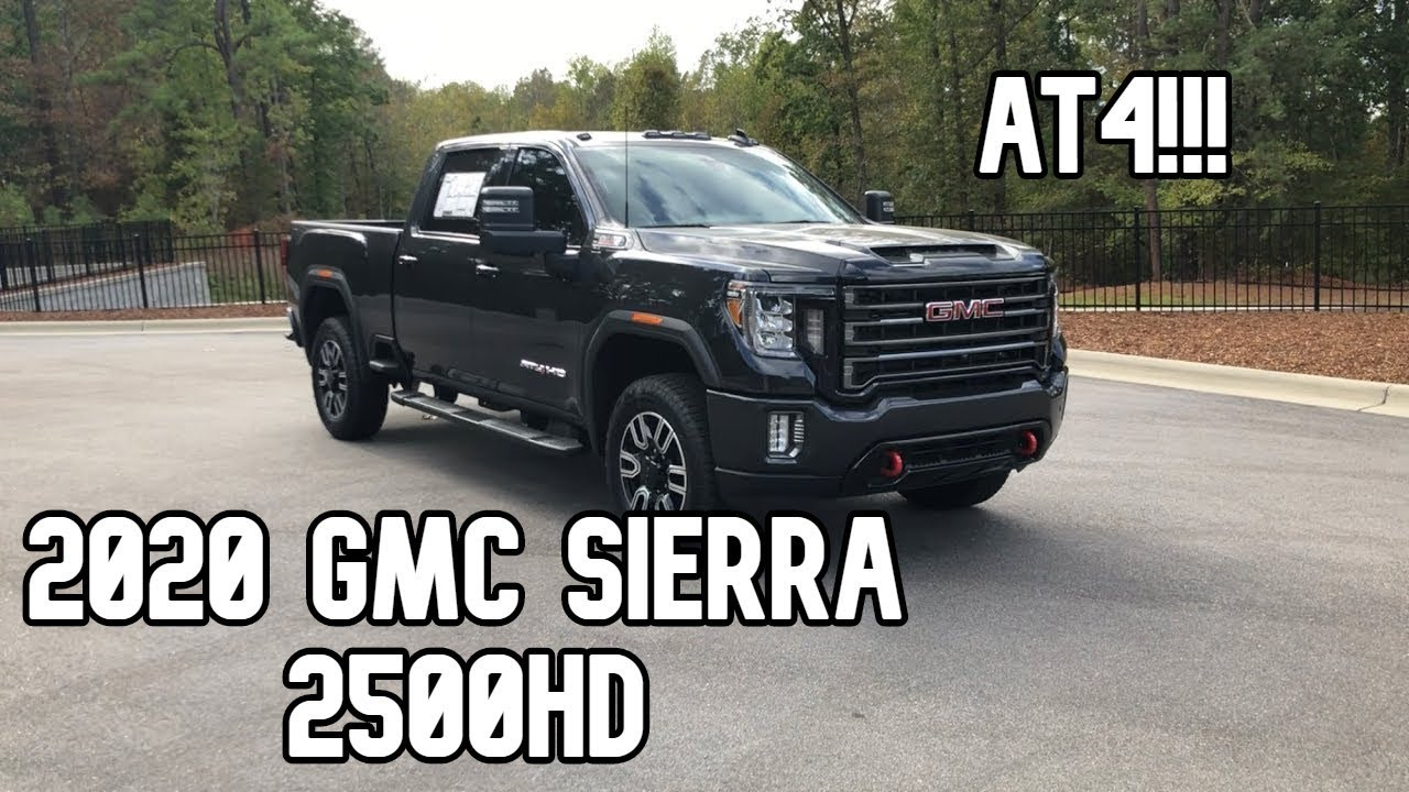 2020 Gmc Sierra 2500hd At4 Review Youtube