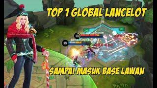 Top 1 Global Player Lancelot Menggila Menit Akhir Sampai Masuk Base Musuh
