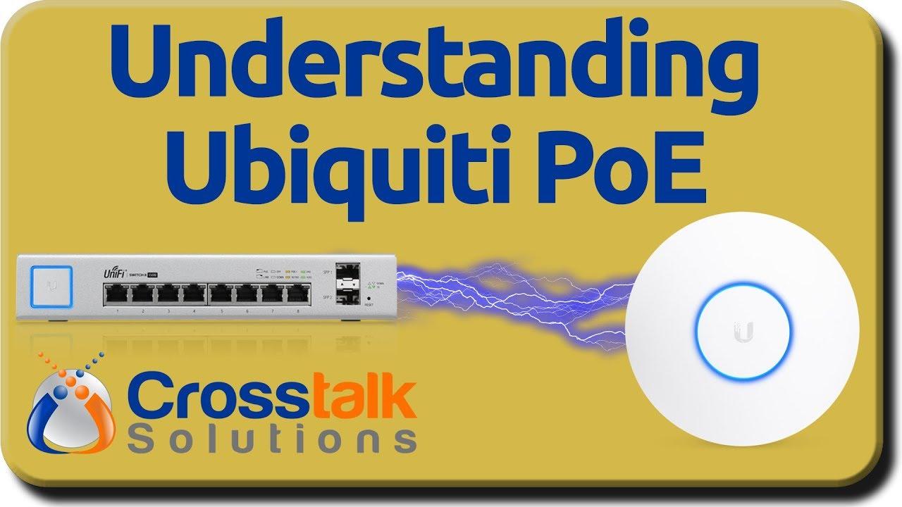 Understanding Ubiquiti PoE