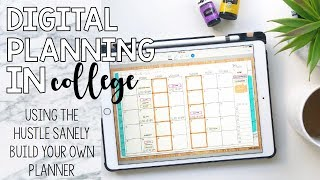 Digital Plan With Me | Planning on an iPad Pro with GoodNotes