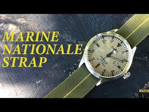 Marine Nationale Straps - This or a NATO?