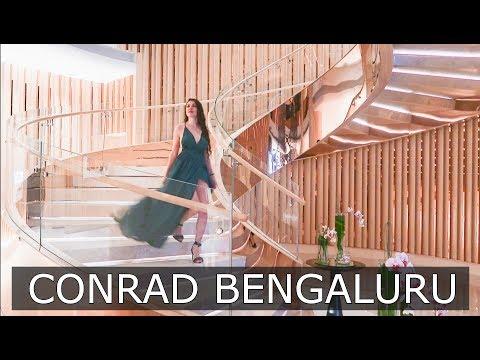 LUXURY INDIA TRAVEL: CONRAD BENGALURU   TRAVEL VLOG IV