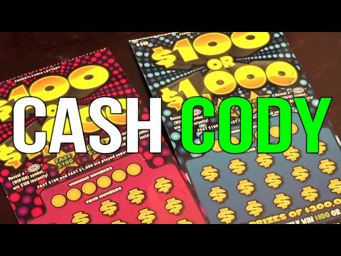 New $10 ($100 Or $1,000) Pennsylvania Lottery Scratch Off Winner!