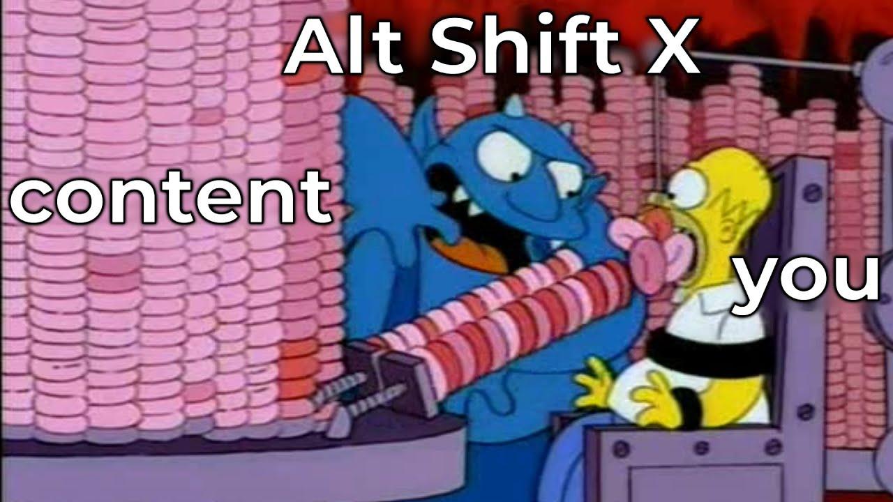 Alt Shift X Podcast and secret side-channels