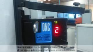 Receber programa no CNC do RGDNC ECO COMANDO FANUC