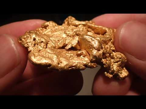 Gold Nugget 5 Troy oz found in Victoria Australia