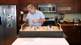 Coffee Table, Type 1 - Secret Compartment- Assembly Video