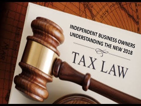 NEW 2018 IRS INCOME TAX LAW and NEW GOOD LIFE USA IBO BUSINESS EXPENSES TO PAY LESS!
