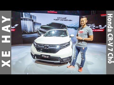 Trải nghiệm nhanh Honda CR-V 7 chỗ giá từ 950 triệu tại Việt Nam |XEHAY.VN|