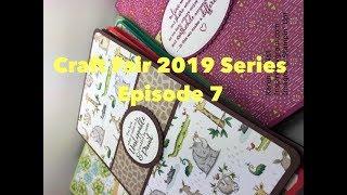 Craft Fair 2019 Series:  5x8 Notebooks