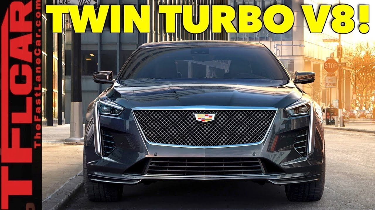 2019 Cadillac Ct6 Vsport Is The Big American V8 Luxury Sedan Back