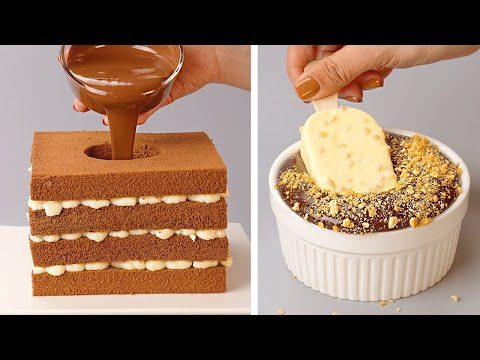 Most Delicious Chocolate Cake Tutorials   My Favorite Chocolate Cake Decorating Video Compilation