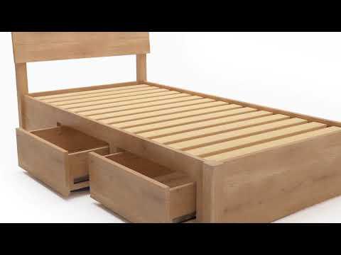 Timber Bed Frames Fantastic Furniture Designs