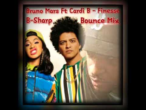 Bruno Mars Ft Cardi B - Finesse (Clean) (B-Sharp New Orleans Bounce Mix)