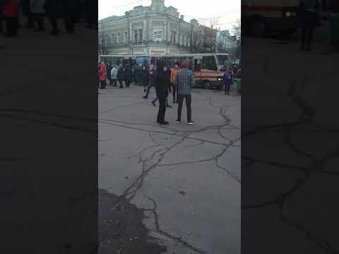 Автобусы: приезд сторонников Порошенко в Житомир