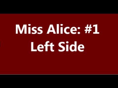 Miss Alice  #1 Left Side