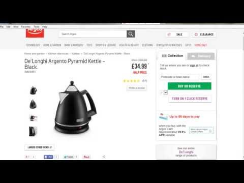 DeLonghi Argento Black Pyramid Kettle Review