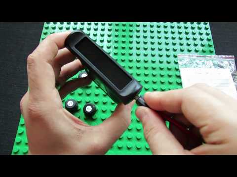 Unboxing CHESHITONG CST-TY02 Car Solar Power TPMS