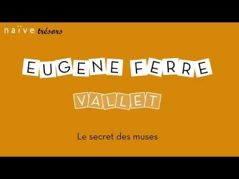 """Eugène Ferré - Jérome Blum - Brian Feehan - Pascal Monteilhet """"Nicolas Vallet: Le Secret des muses"""""""