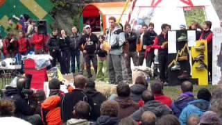MelloBlocco 2010 - Premiazioni: Caminati - Ghisolfi - Moroni