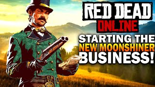 How To Unlock The NEW Moonshiner Role! Red Dead Online Frontier Pursuit Update