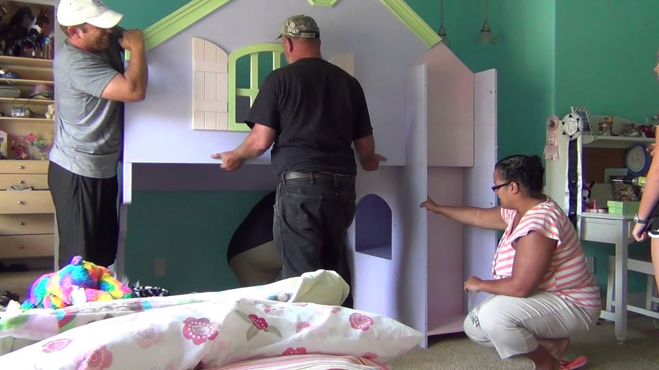 Doll House Bed Deconstruction Youtube