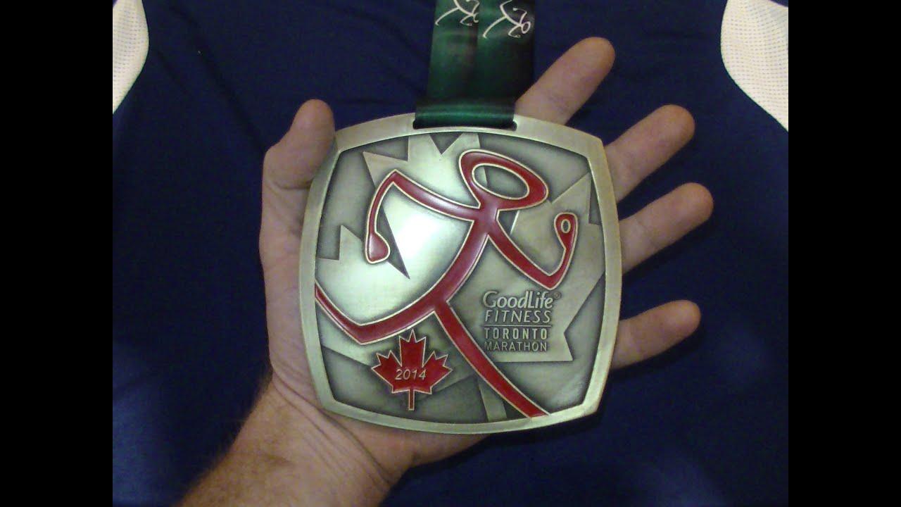 Goodlife Fitness Toronto Marathon 2014 Youtube