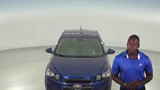 A96775TR - Used, 2013, Chevrolet Sonic, LS, Sedan, Blue, Test Drive, Review, For Sale -