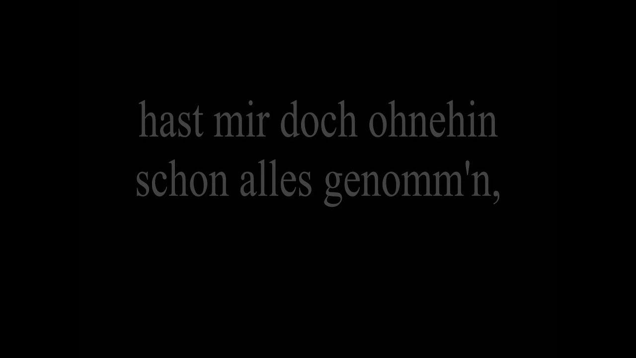 Daniel Wirtz Mon Amour Lyrics