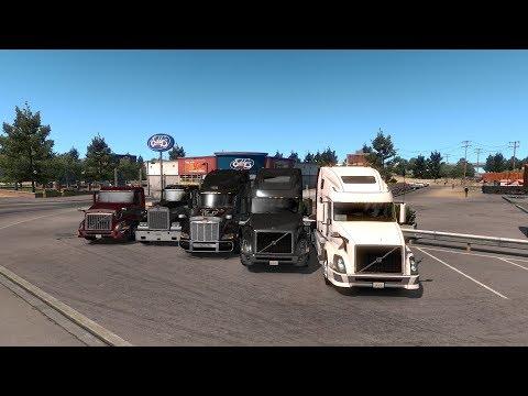 Стрим #98 по American Truck Simulator Multiplayer DLS Volvo VNL