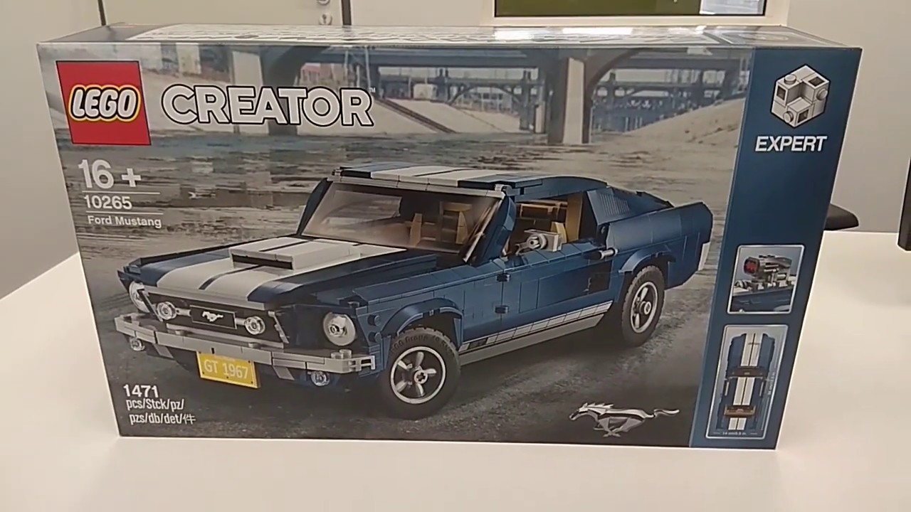 Lego Ford Mustang : lego 10265 ford mustang creator expert box review youtube ~ Aude.kayakingforconservation.com Haus und Dekorationen