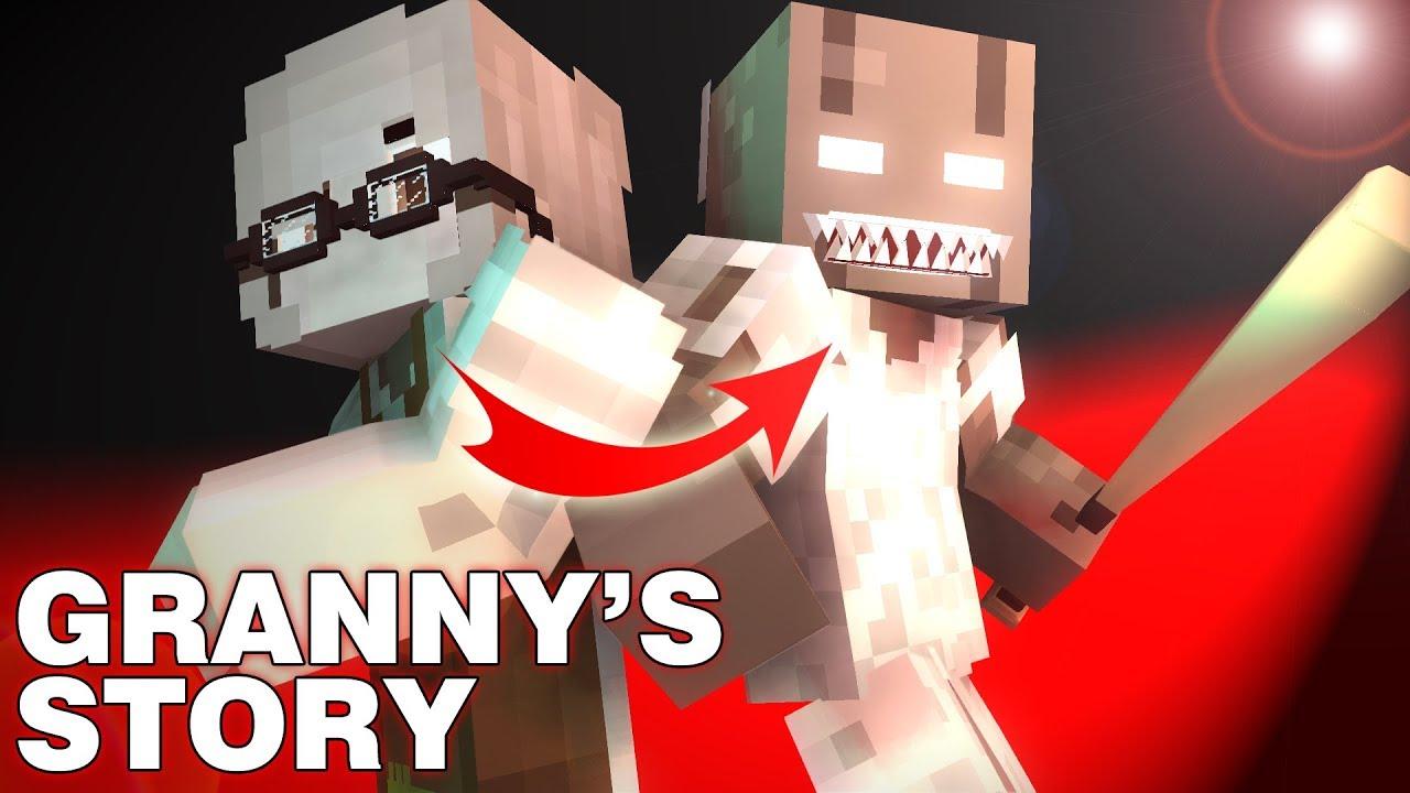 Monster School : Granny 's Story - Minecraft Animation