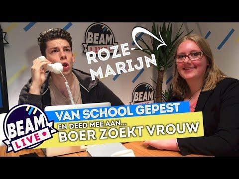BEAM LIVE #03 - ROZEMARIJN WERD VAN SCHOOL AF GEPEST!