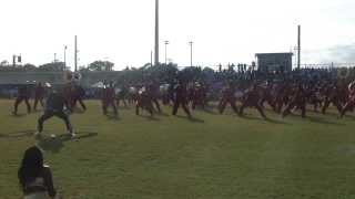 Raines High Fieldshow Vs Ribault 2013-3014