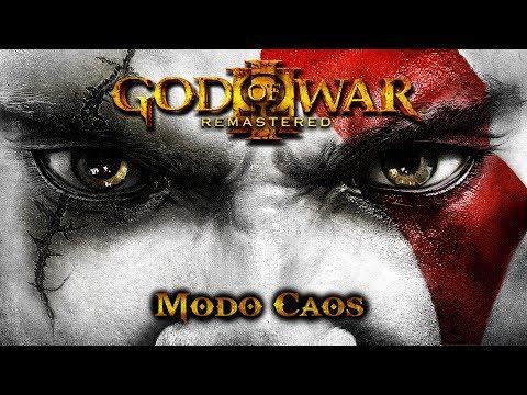 God of War 3 - Modo Caos - 100% Playthrough [1080p 60fps]