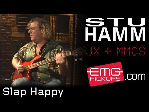 "Stu Hamm plays ""Slap Happy"" live on EMGtv"